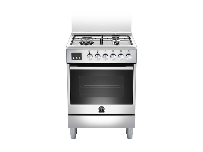 60 3-Burners 1-Hotplate Electric Oven CX | Bertazzoni La Germania - Stainless