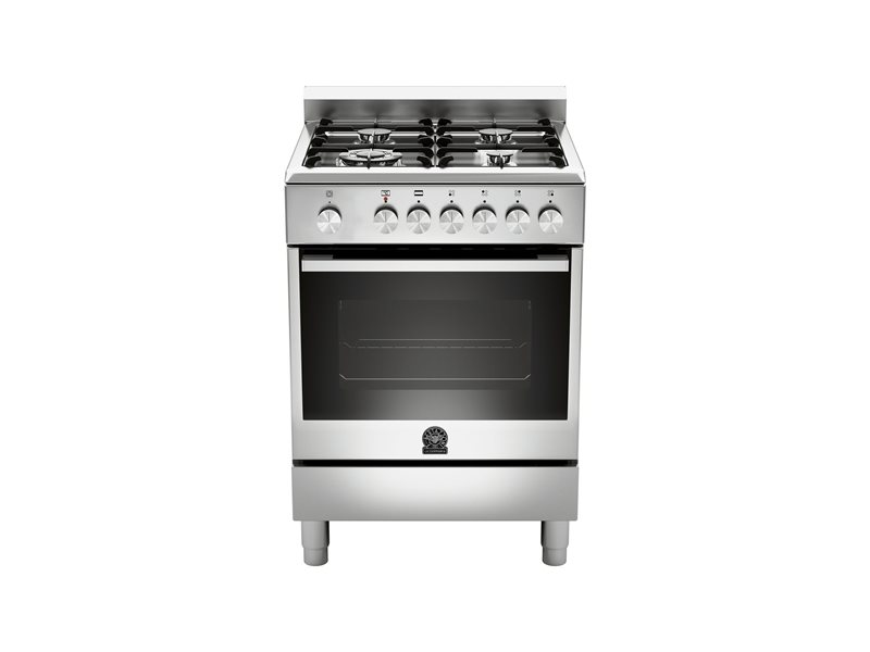 60 4-Burners Gas Oven Electric Grill CX | Bertazzoni La Germania - Stainless