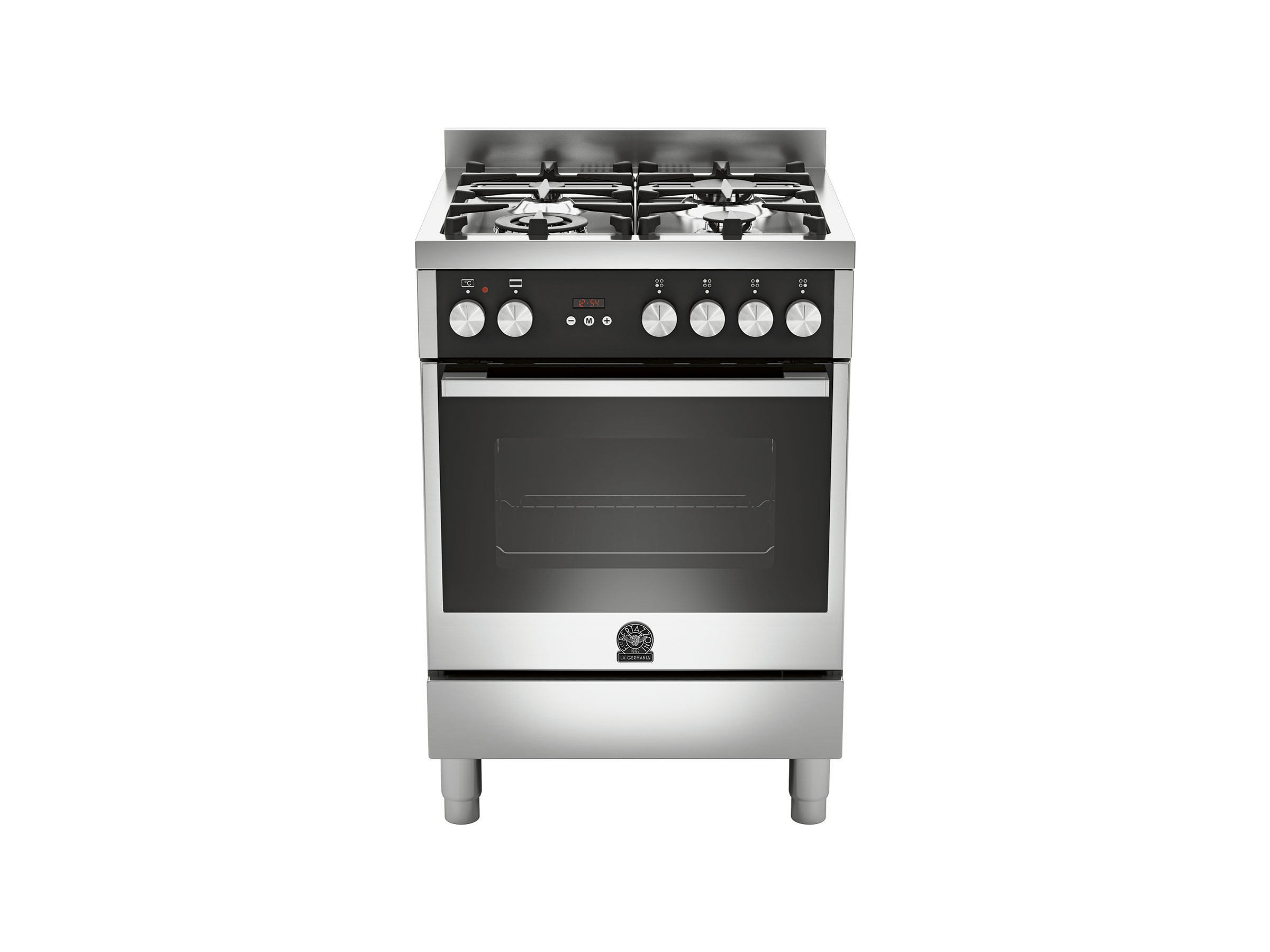 60 4-Burners Gas OvenElectric Grill BX | Bertazzoni La Germania - Stainless