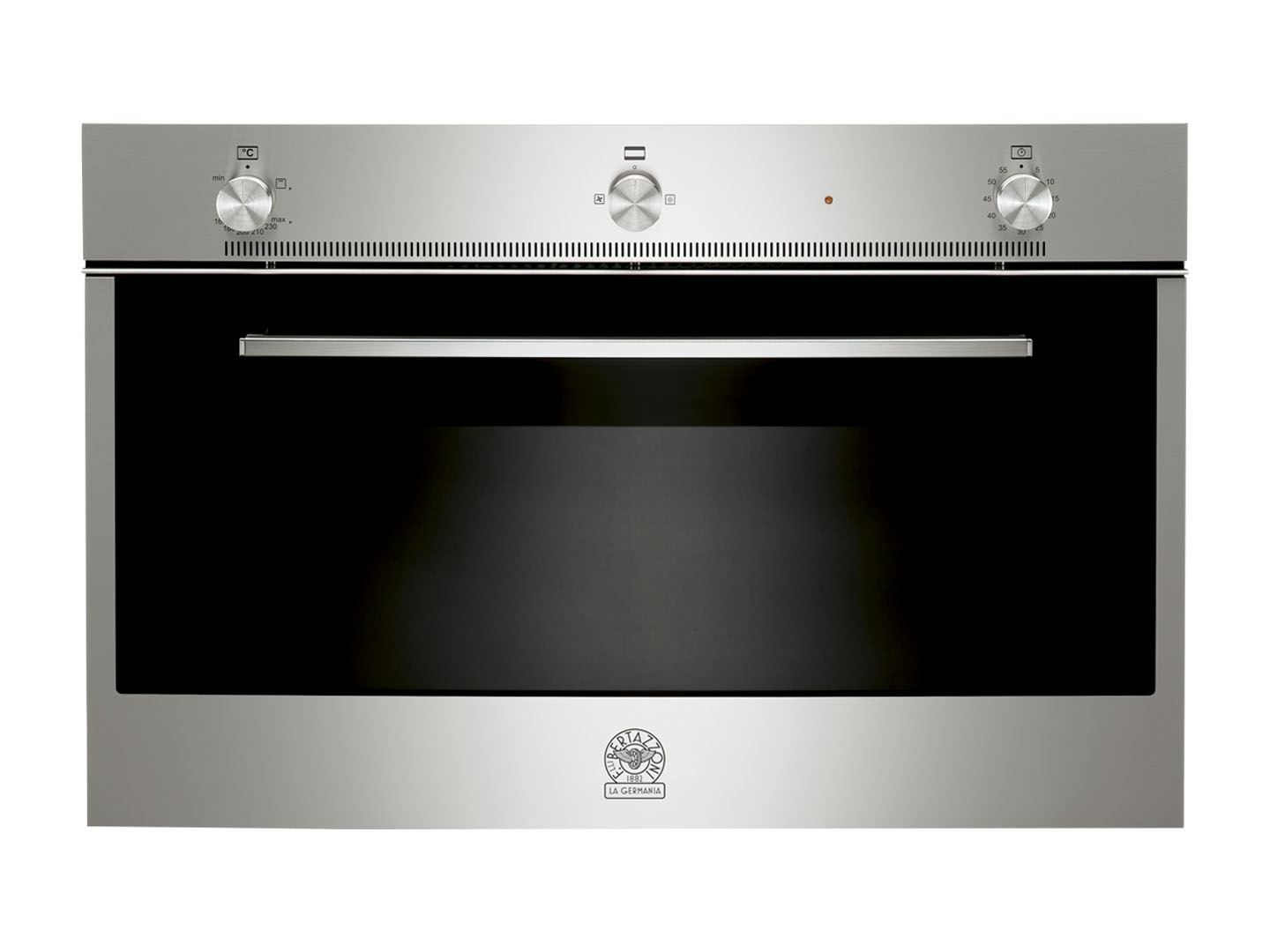 90 Gas Convection  Oven Gas Grill | Bertazzoni La Germania - Stainless