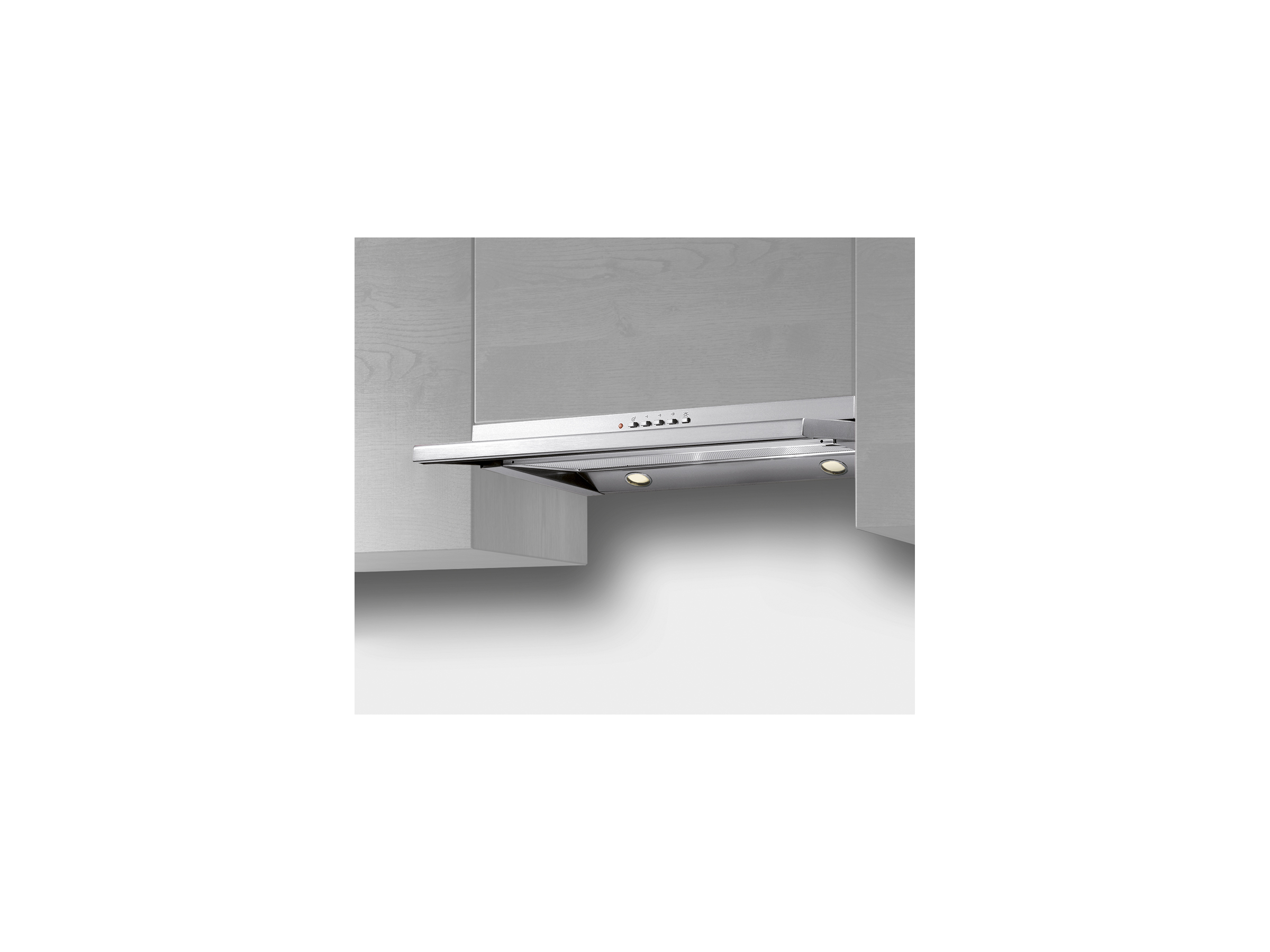 60 Undermount Telescopic Hood | Bertazzoni La Germania - Stainless