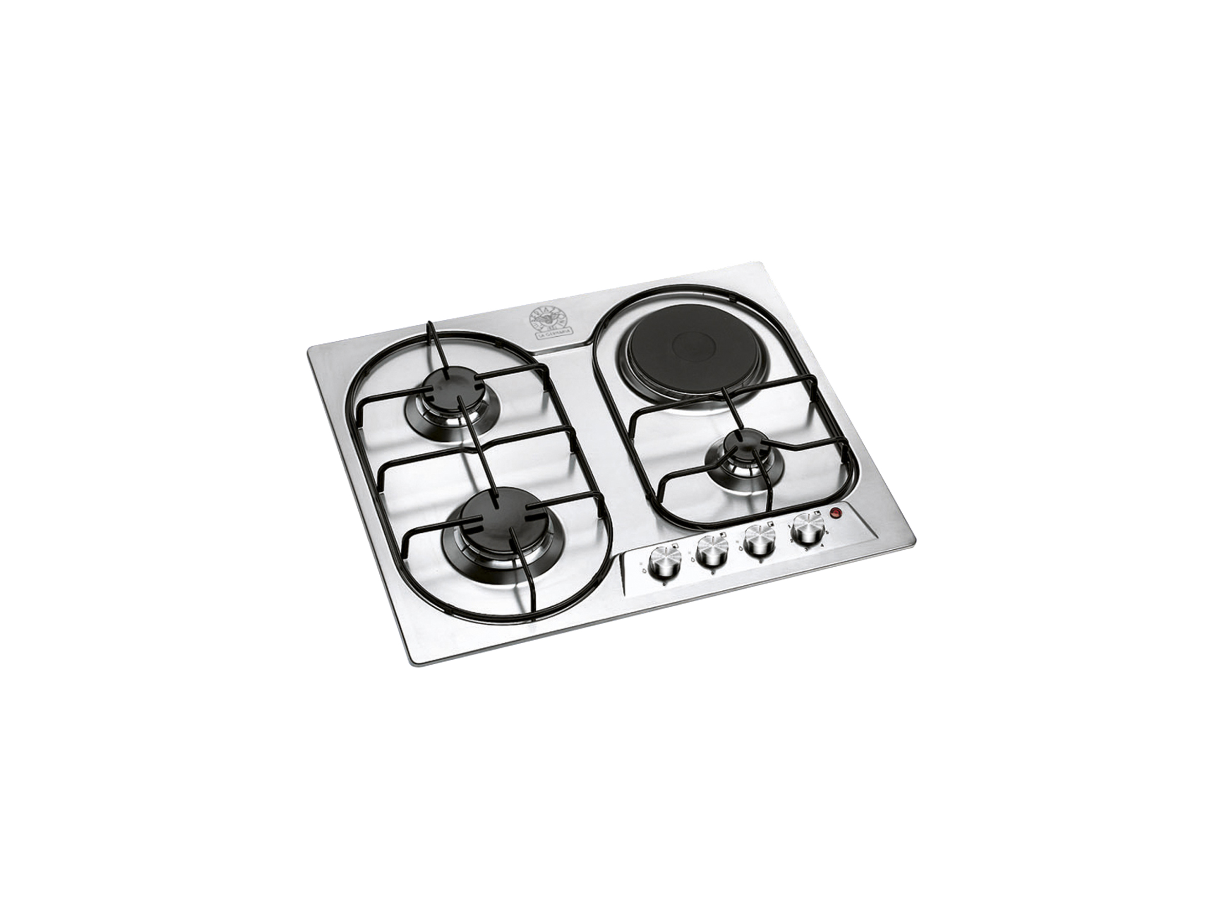 60 3-Burners 1 Electric Hotplate Hob | Bertazzoni La Germania - Stainless